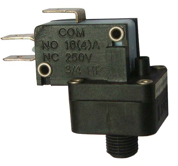Important parameters to select a pressure switch
